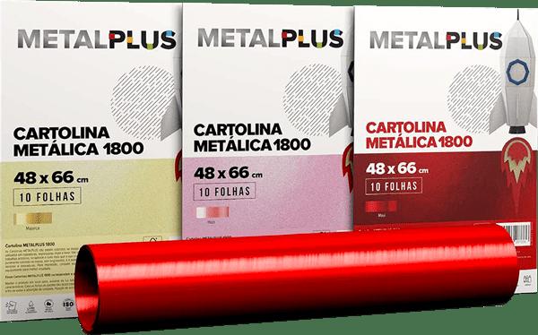 Cartolinas Metalplus
